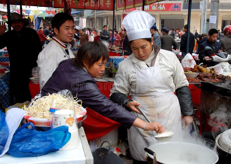 Download Pengzhou, China: Cooks At Food Festival Editorial Photography - Image: 15048577