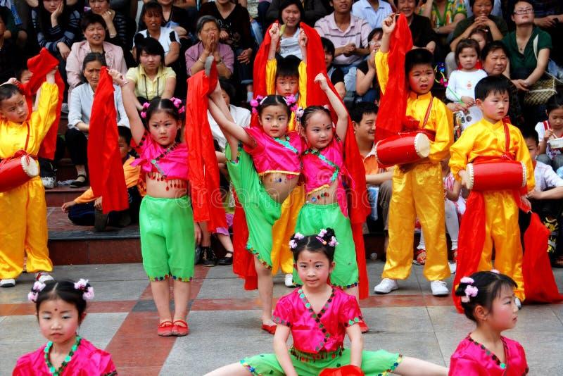 Download Pengzhou, China: Kids Dancing In New Square Editorial Stock Photo - Image: 15089388