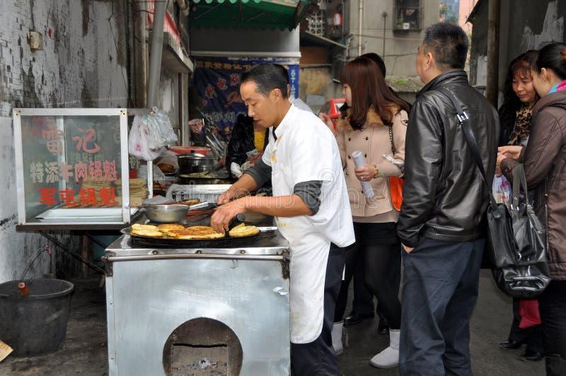 Download Pengzhou, China: Man Making Editorial Stock Image - Image: 22058459