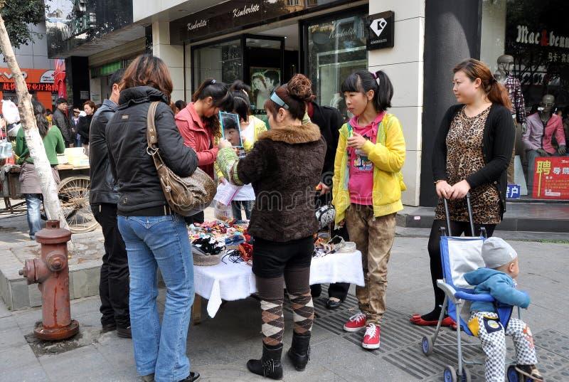 Download Pengzhou, China: Women Shopping Editorial Stock Image - Image: 24005779