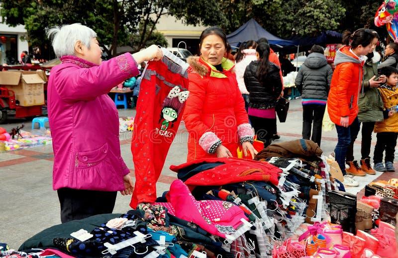 Download Pengzhou, China: Women Shopping For Clothing Editorial Photo - Image: 29233091
