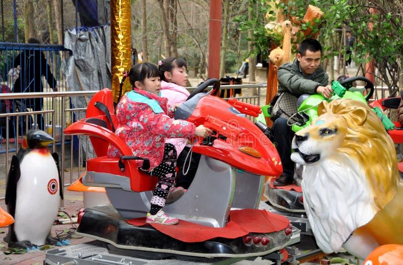Download Pengzhoul, China: Kids At Amusement Park Editorial Stock Photo - Image: 23287458