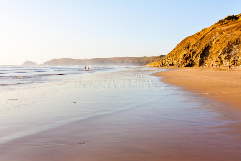 Download Penhale Sands stock photo. Image of beautiful, cornwall - 22847814
