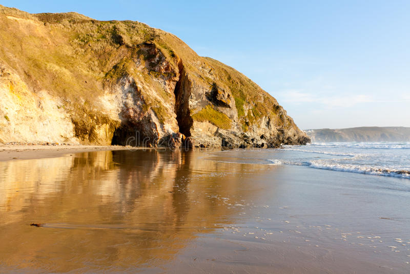 Download Penhale Sands stock image. Image of coastline, coast - 22847843