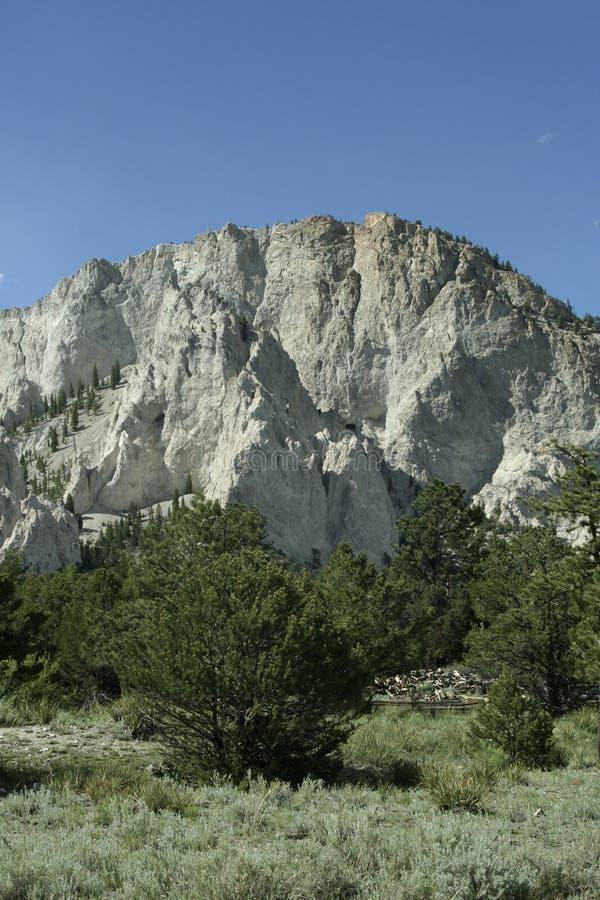 Penhascos de giz de Colorado foto de stock royalty free