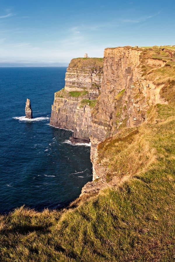 Penhascos De Moher Em Co. Clare, Ireland. Fotografia de Stock
