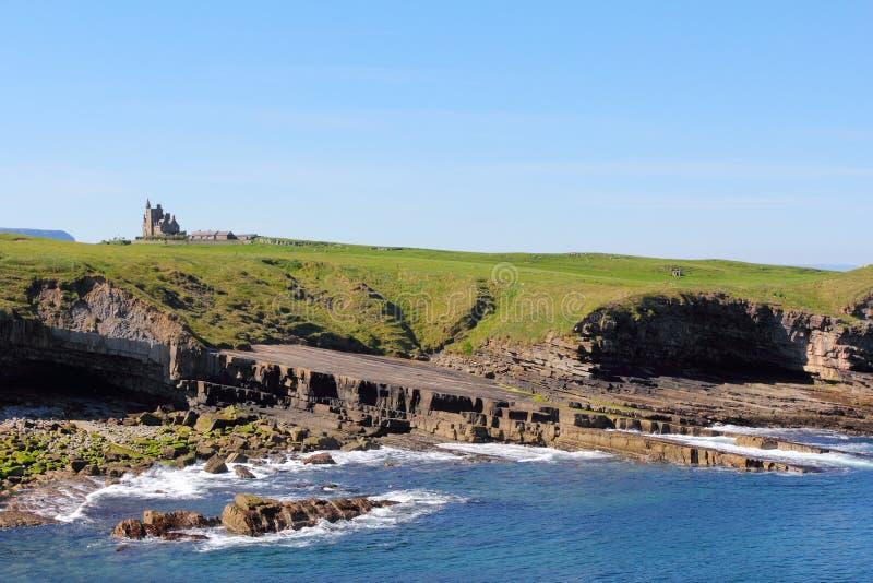 Penhascos e mar em Mullaghmore fotos de stock royalty free