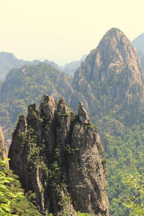 Download Penholder Peak Of HuangshanPen Rack Peak Stock Image - Image: 24979843