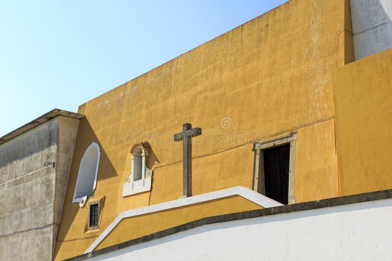 Peniche - Saint Barbara Chapel stock photos