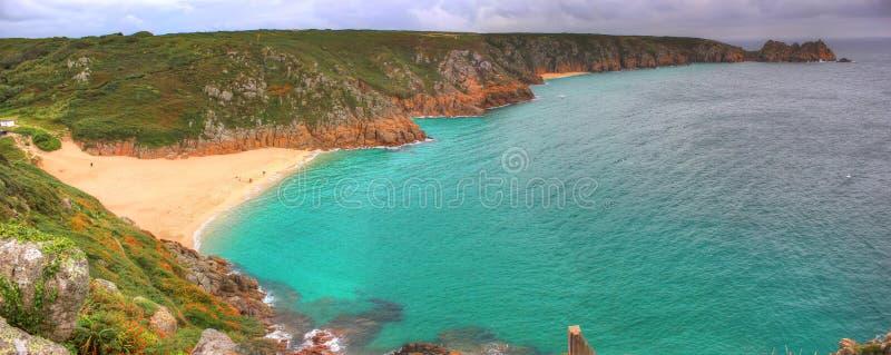 Peninsula Cornwall, England, UK royalty free stock photography