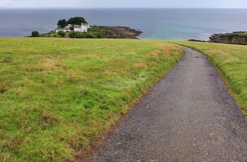 Peninsula Cornwall, UK, England royalty free stock photos