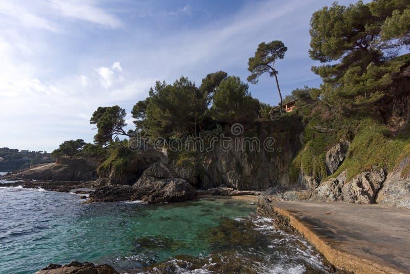 Peninsula of Giens royalty free stock image