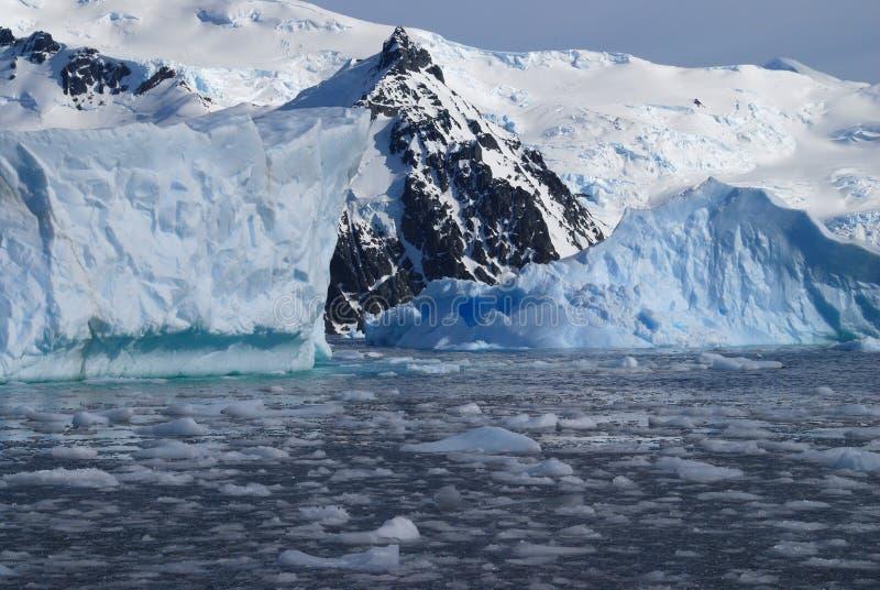 Peninsulare antartico fotografie stock