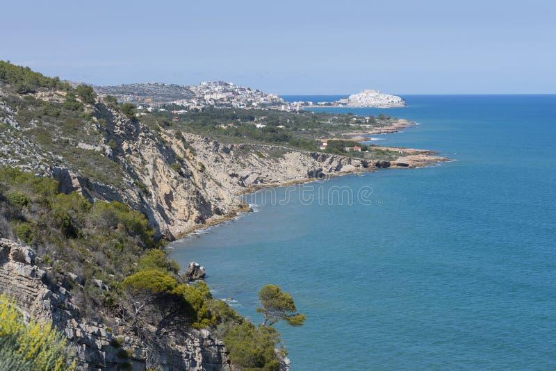 Peniscola (Castellon, Ισπανία) στοκ φωτογραφίες