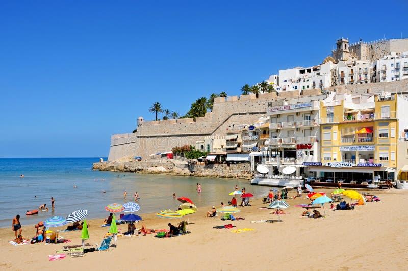 Peniscola, Espanha fotografia de stock royalty free
