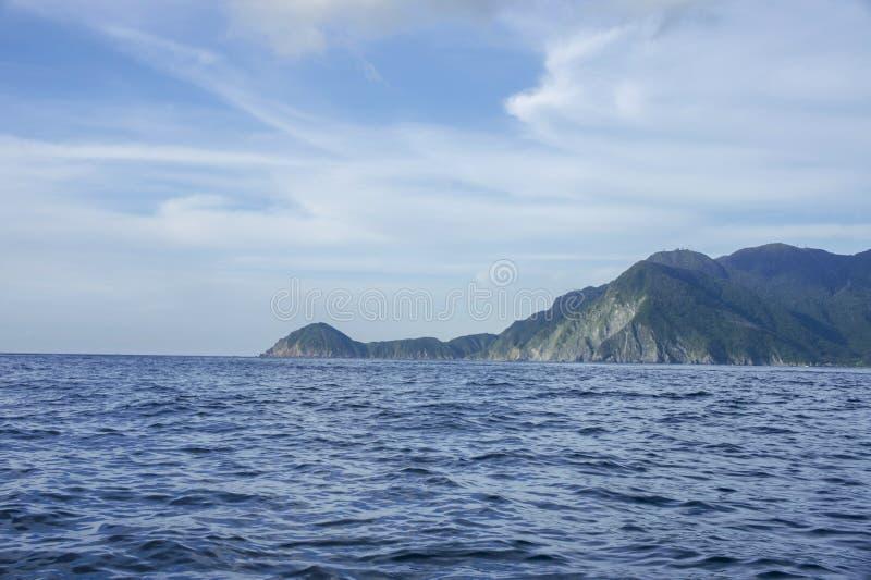 penisola fotografia stock