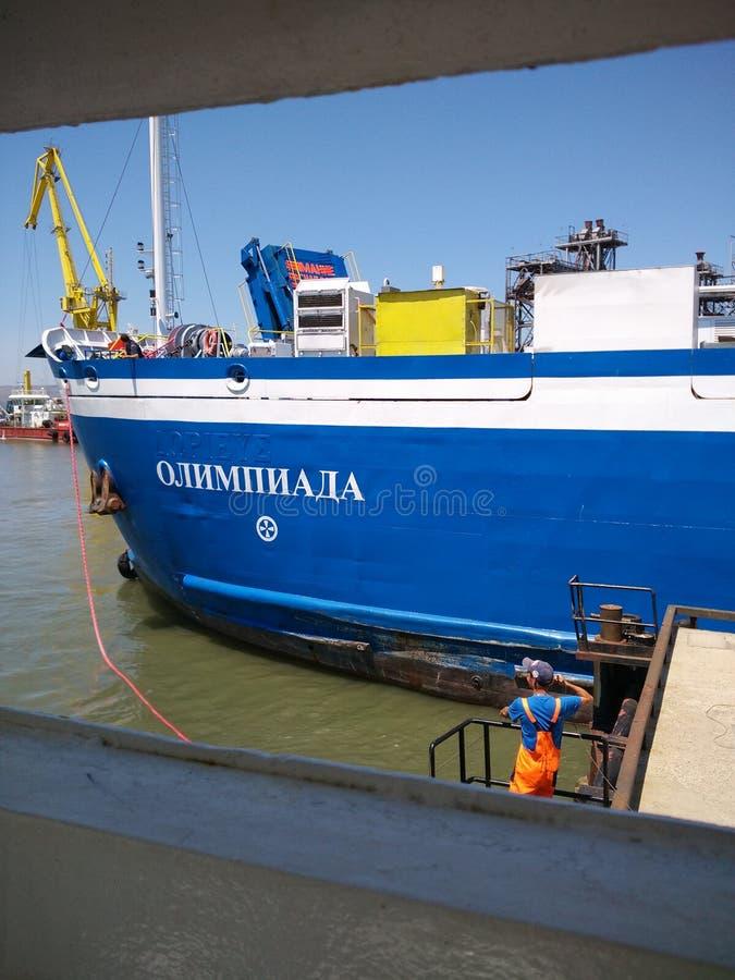 Penisola della Crimea del traghetto di Tavrida immagine stock