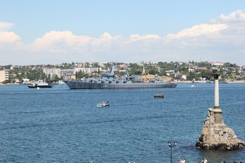 Penisola della Crimea di Sebastopoli fotografia stock