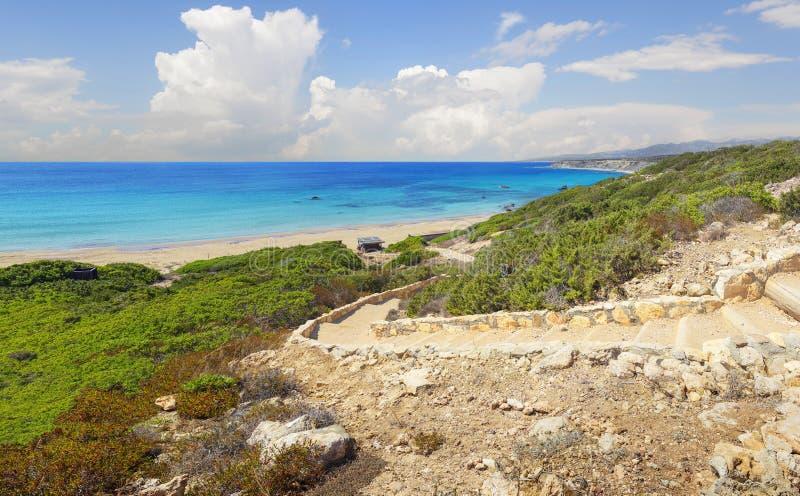 Penisola di Akamas cyprus fotografia stock libera da diritti