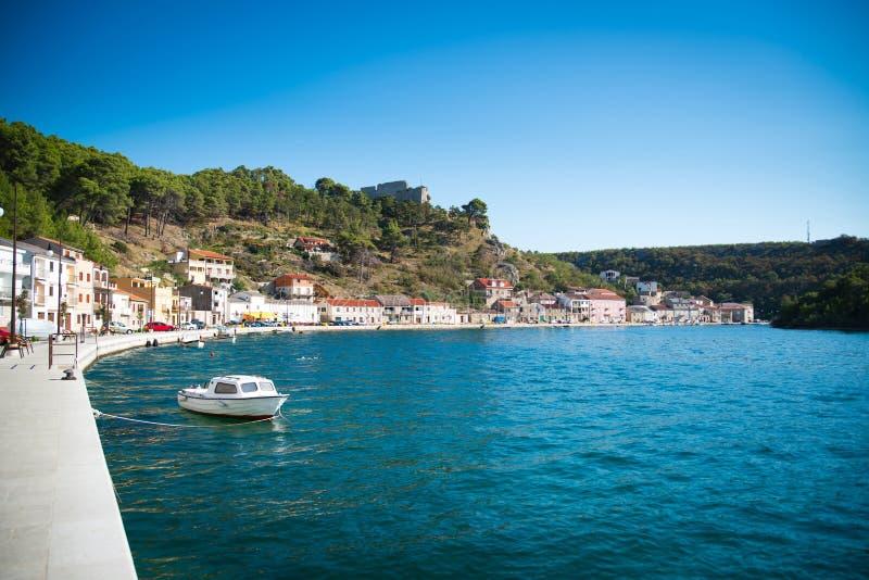 Novigrad in Croazia fotografia stock libera da diritti