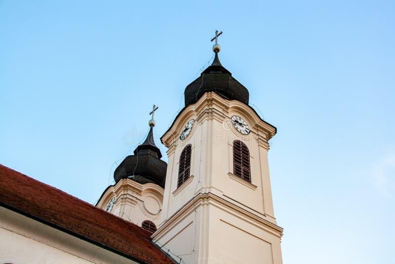 Penisola di Tihany sul Balaton in Ungheria immagini stock