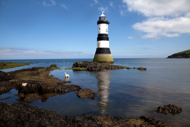 Download Penmon Point stock image. Image of penmon, menai, point - 25107987