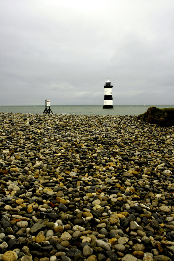 Free Penmon Point Lighthouse Royalty Free Stock Photo - 6814945