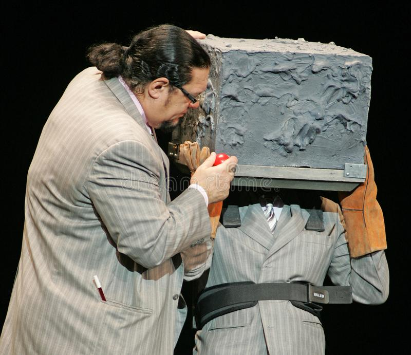 Penn & o caixeiro executam em Florida foto de stock