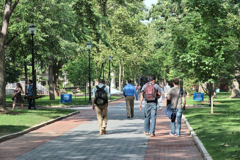 Penn State-campus royalty-vrije stock foto