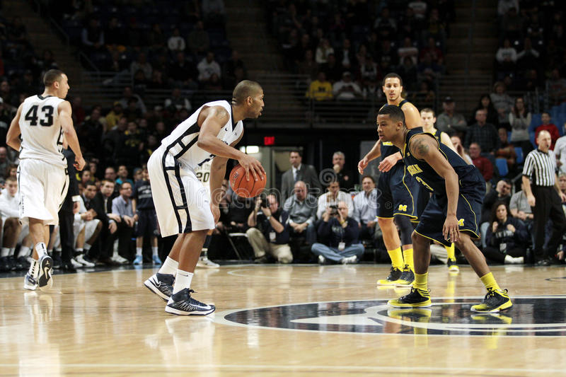 Download Penn State's D.J. Newbill editorial photo. Image of defend - 29530946