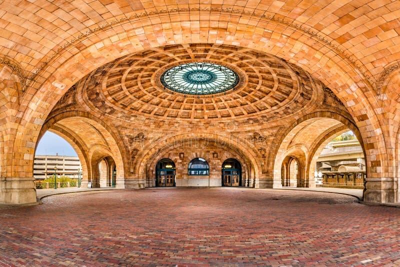 Penn Station järnvägsstation royaltyfria foton
