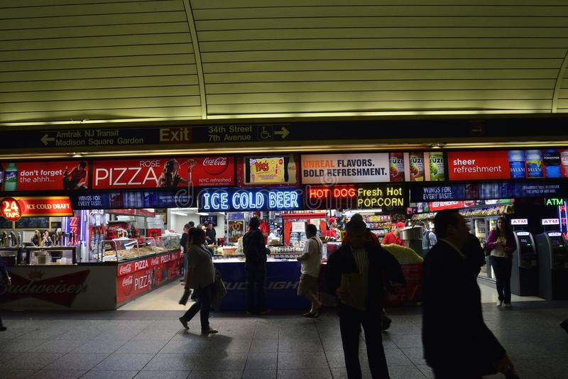 Penn Station novo imagem de stock royalty free