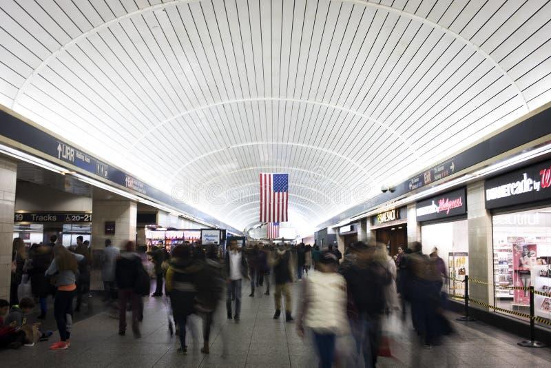 Penn station royaltyfri foto