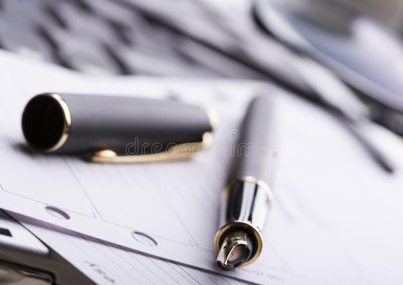 Penna fotografia stock