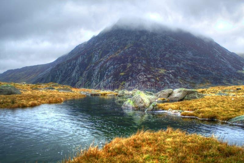 Penna anno Ole Wen Snowdonia National Park fotografia stock libera da diritti