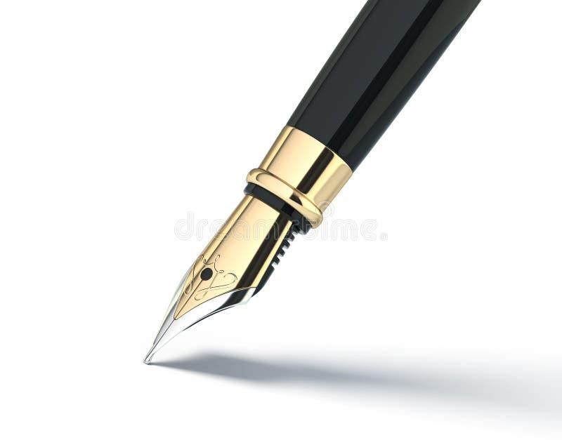 Penna di fontana royalty illustrazione gratis
