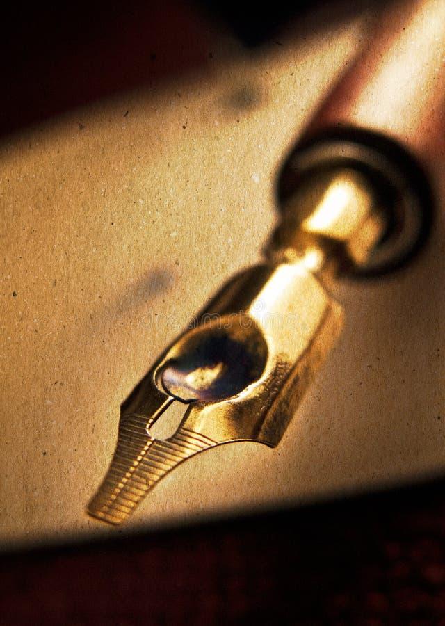 Penna di fontana fotografia stock libera da diritti
