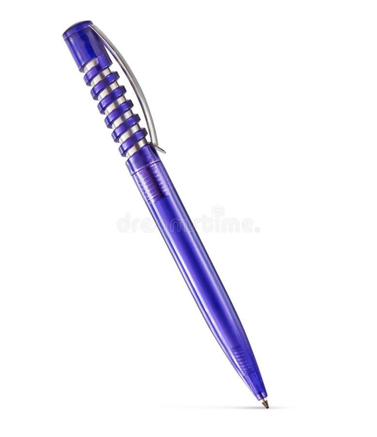 Penna di plastica con il percorso di ritaglio fotografie stock libere da diritti