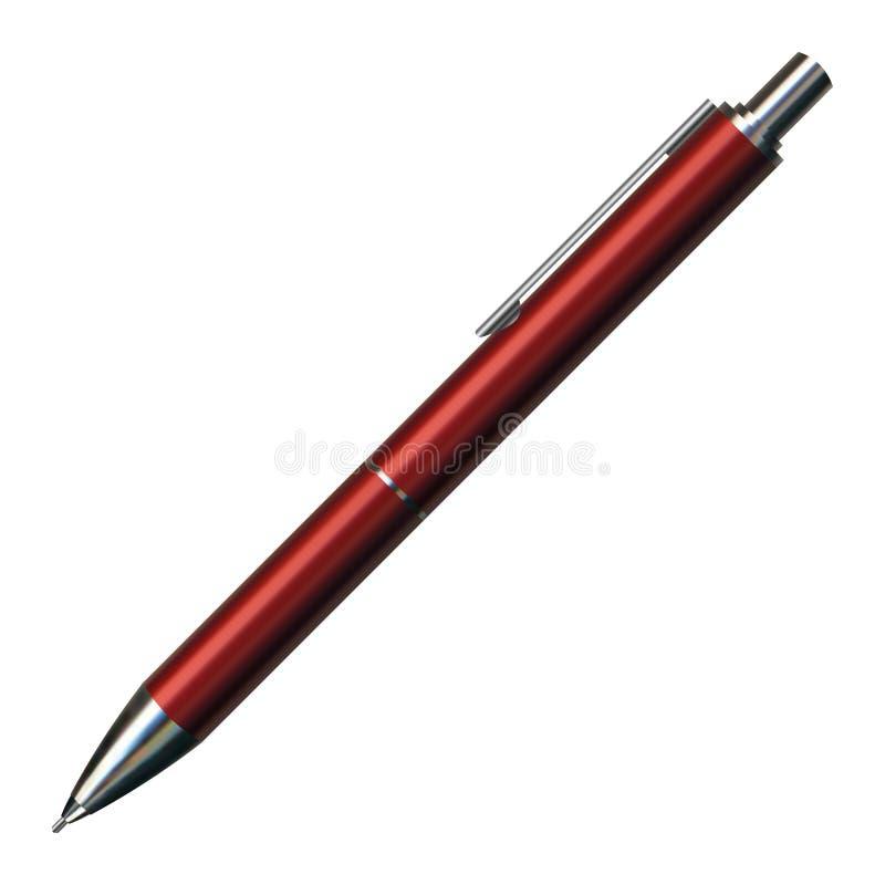 Penna di sfera illustrazione di stock