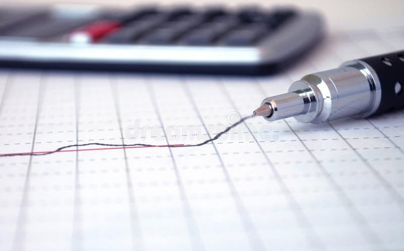 Penna e calcolatore fotografia stock libera da diritti
