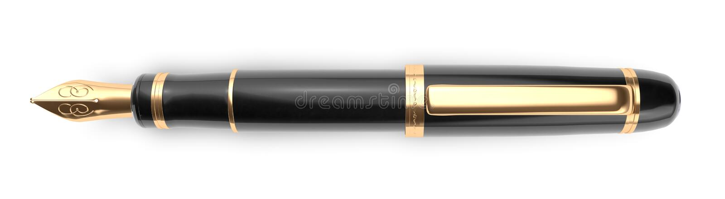 penna för avdelarspringbrunnavsnitt royaltyfri fotografi