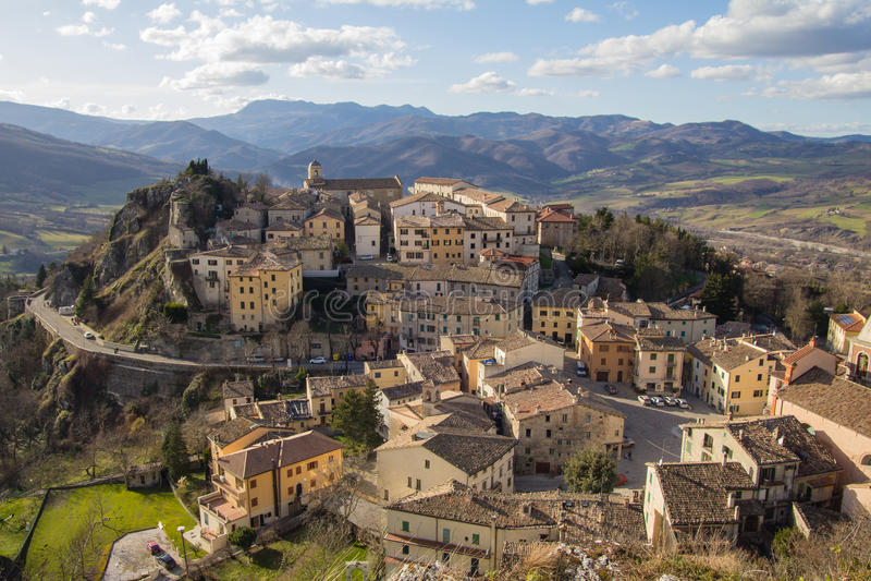 Pennabilli - Αιμιλία-Ρωμανία, Ιταλία στοκ φωτογραφία με δικαίωμα ελεύθερης χρήσης