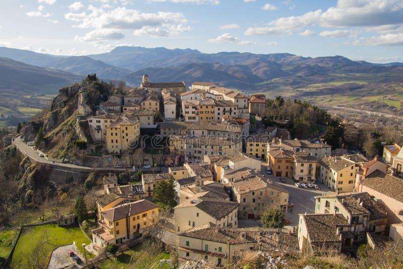 Pennabilli - Emilia Romagna, Italien lizenzfreie stockfotografie
