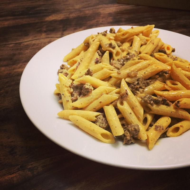Penne royalty-vrije stock afbeelding