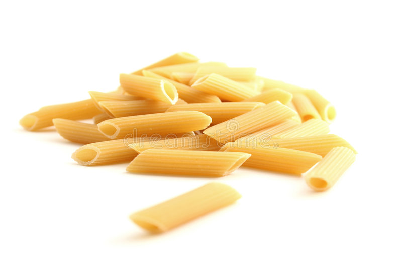 Download Penne стоковое изображение. изображение насчитывающей тарелка - 6851177