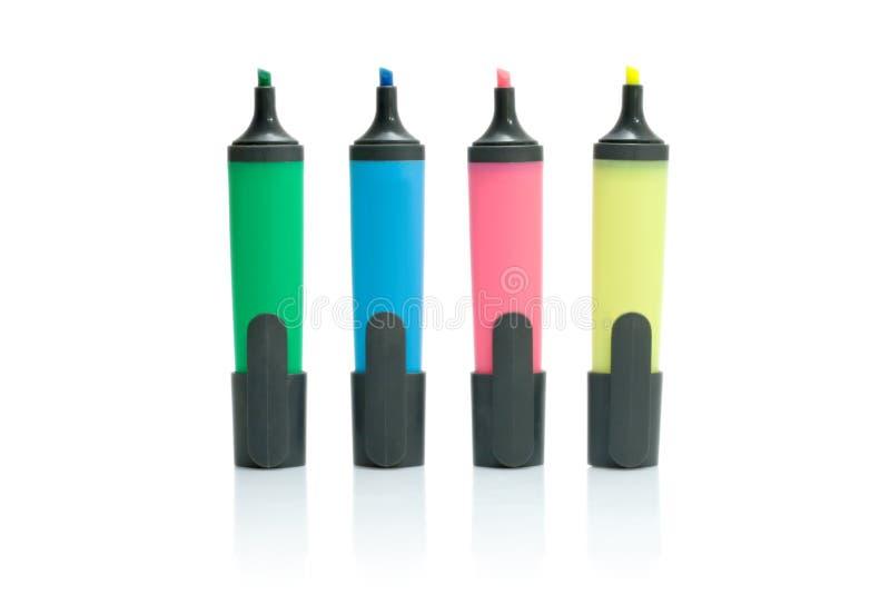 Penne del feltro fotografia stock