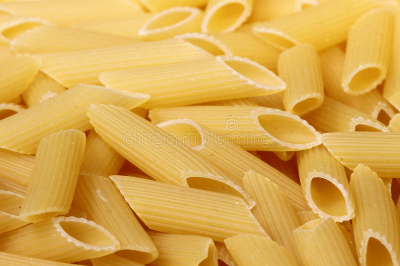 Penne pasta stock images