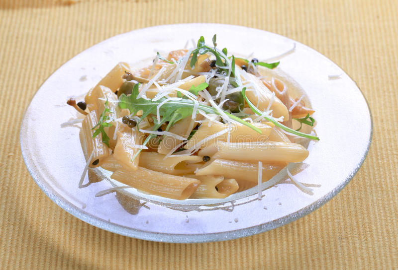 Download Penne With Pickled Peppercorns And Capers Stock Image - Image: 13294507