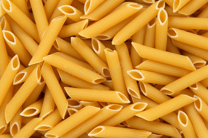 Download Penne Rigate Pasta Background Stock Photo - Image: 5075870