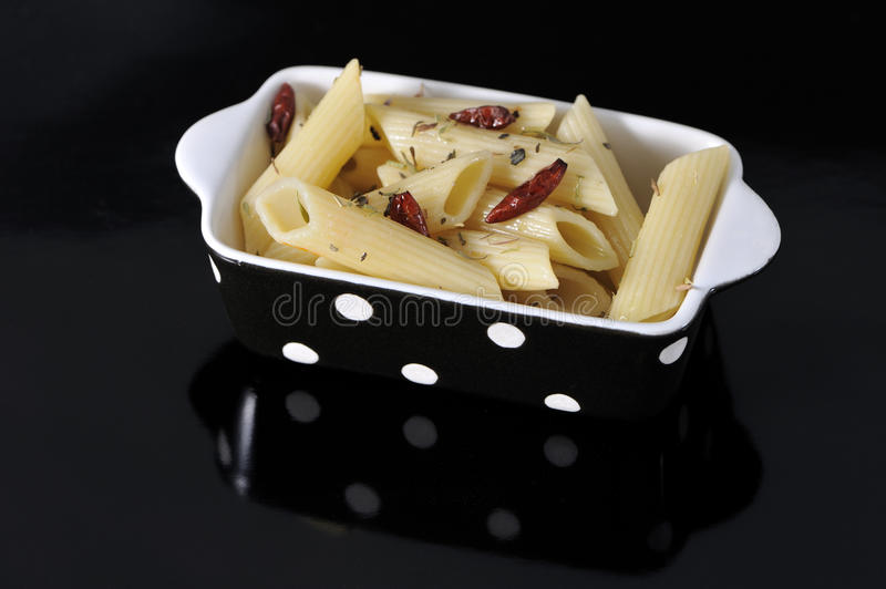 penne spiced obraz royalty free